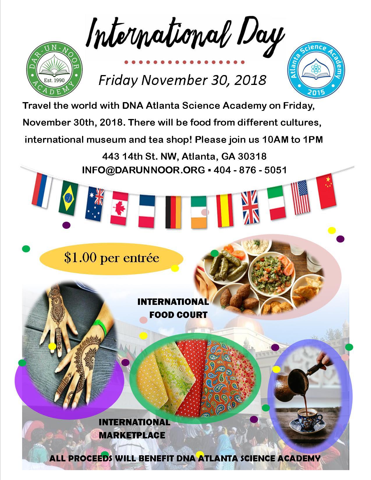 INTERNATIONAL DAY on NOVEMBER 30th