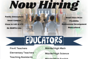 NOW.HIRING.EDUCATORS